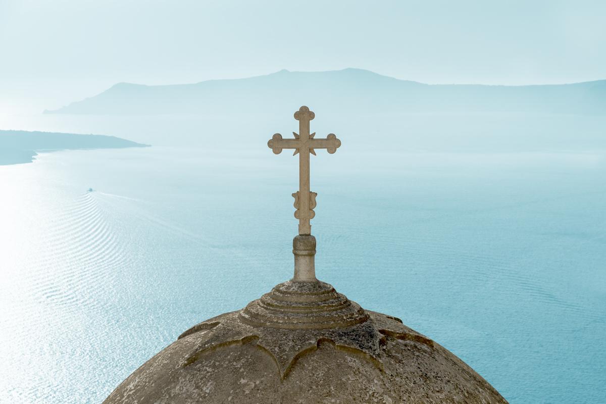 Santorini cross