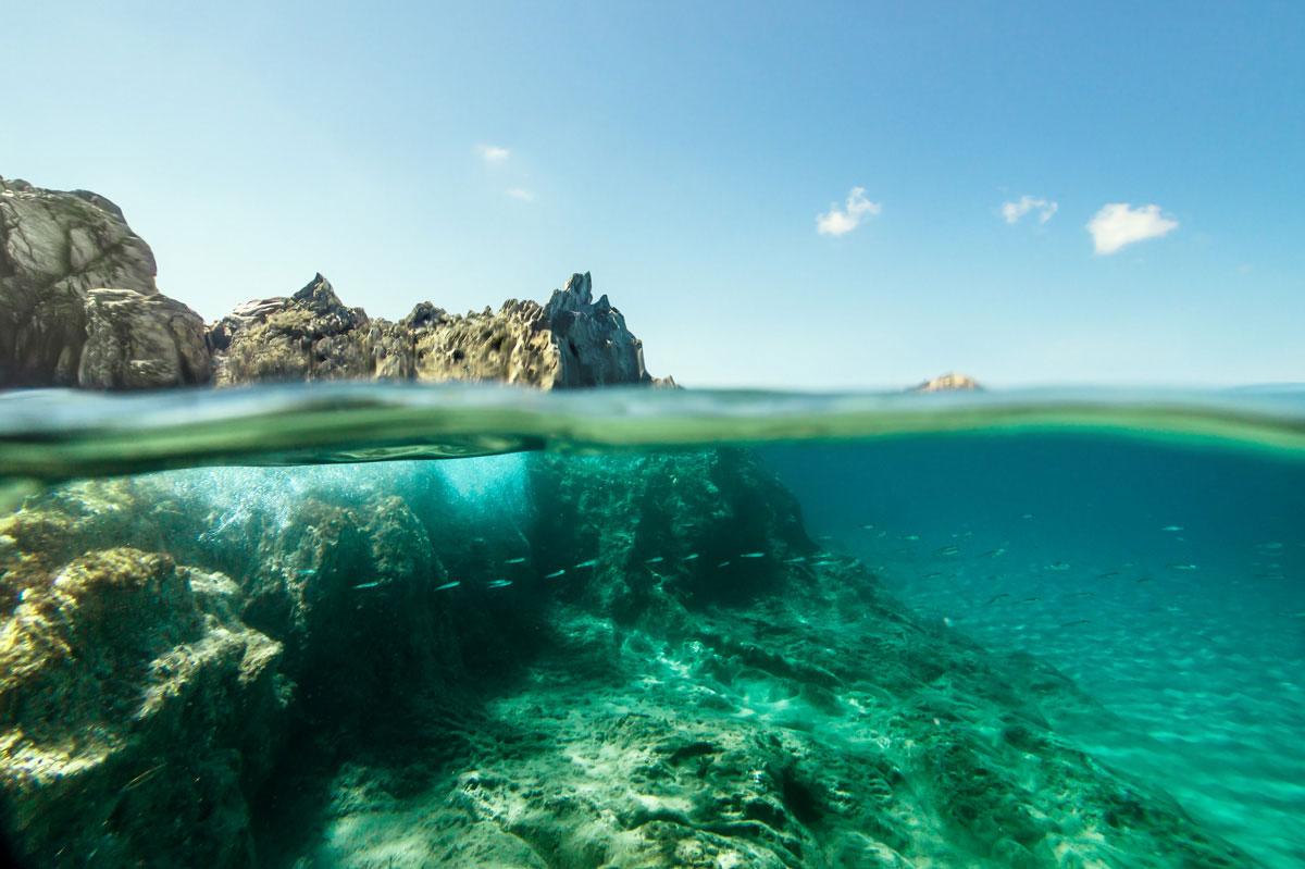 Split ocean