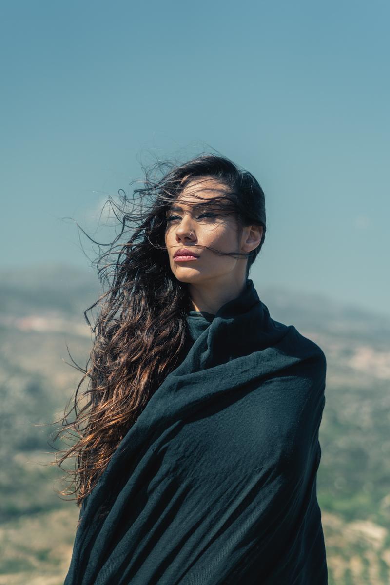 Windy Portrait 4