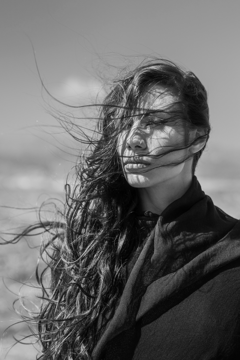 Windy Portrait