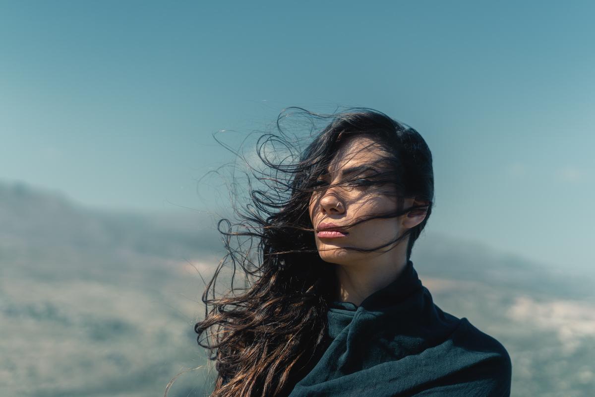 Windy Portrait 6