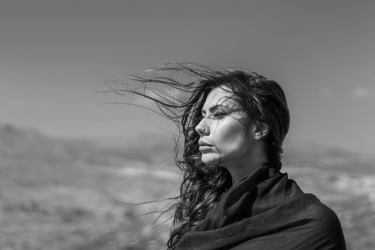 Windy Portrait 7